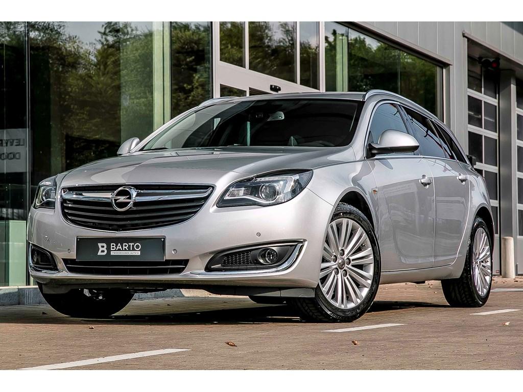 Tweedehands te koop: Opel Insignia Zilver - ST - 16 136pk - Cosmo - Autom - Ergon Leder Zetels - Navi
