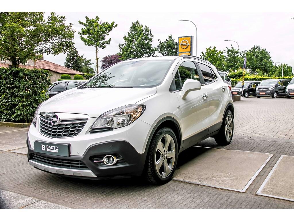 Tweedehands te koop: Opel Mokka Wit - COSMO - 130pk - Leder - Navigatie -