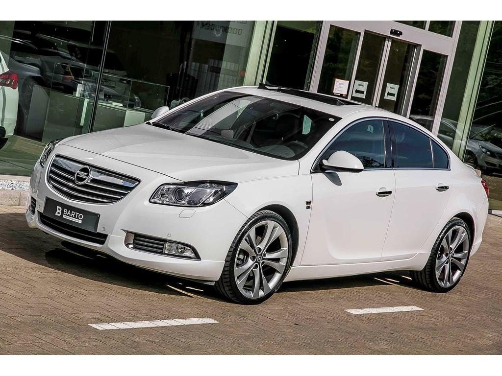 Tweedehands te koop: Opel Insignia Wit - Verkocht Proficiat Ruud