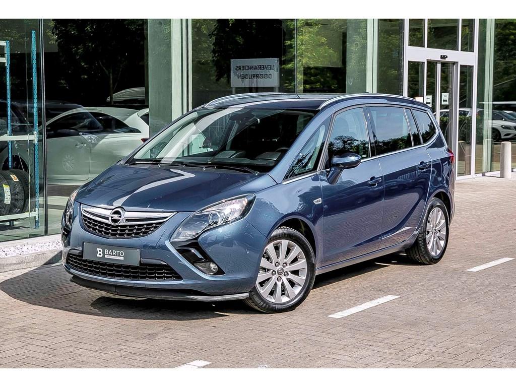 Tweedehands te koop: Opel Zafira Tourer Blauw - 14 T 140pk - Navi - Arij Camera - 7 zit