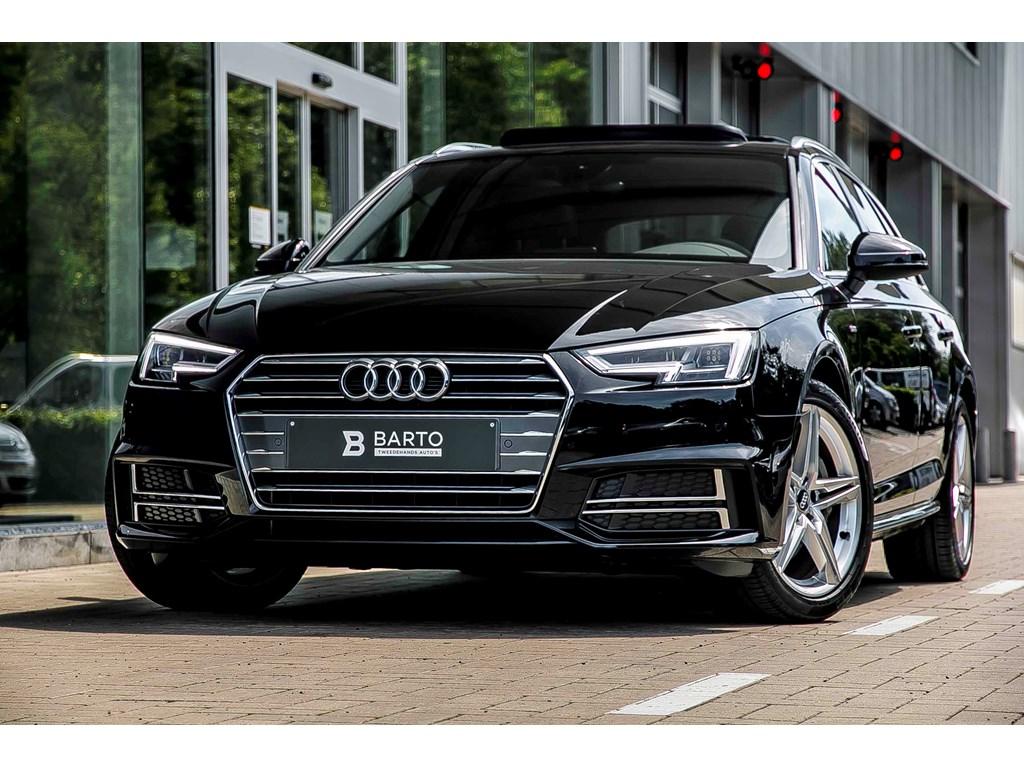 Tweedehands te koop: Audi A4 Zwart - Avant 190pk - S line - Pano dak - Full led - NIEUW