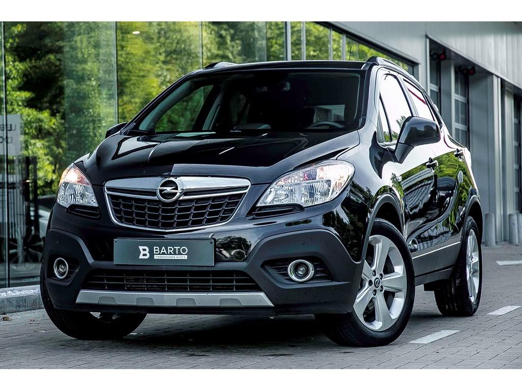 Tweedehands te koop: Opel Mokka Zwart - ENJOY - 17d - Navi - Airco - Parksens