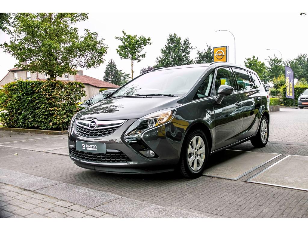 Tweedehands te koop: Opel Zafira Tourer Anthraciet - 16 Cdti 136pk - Cosmo - Navigatie - A-rij Camera