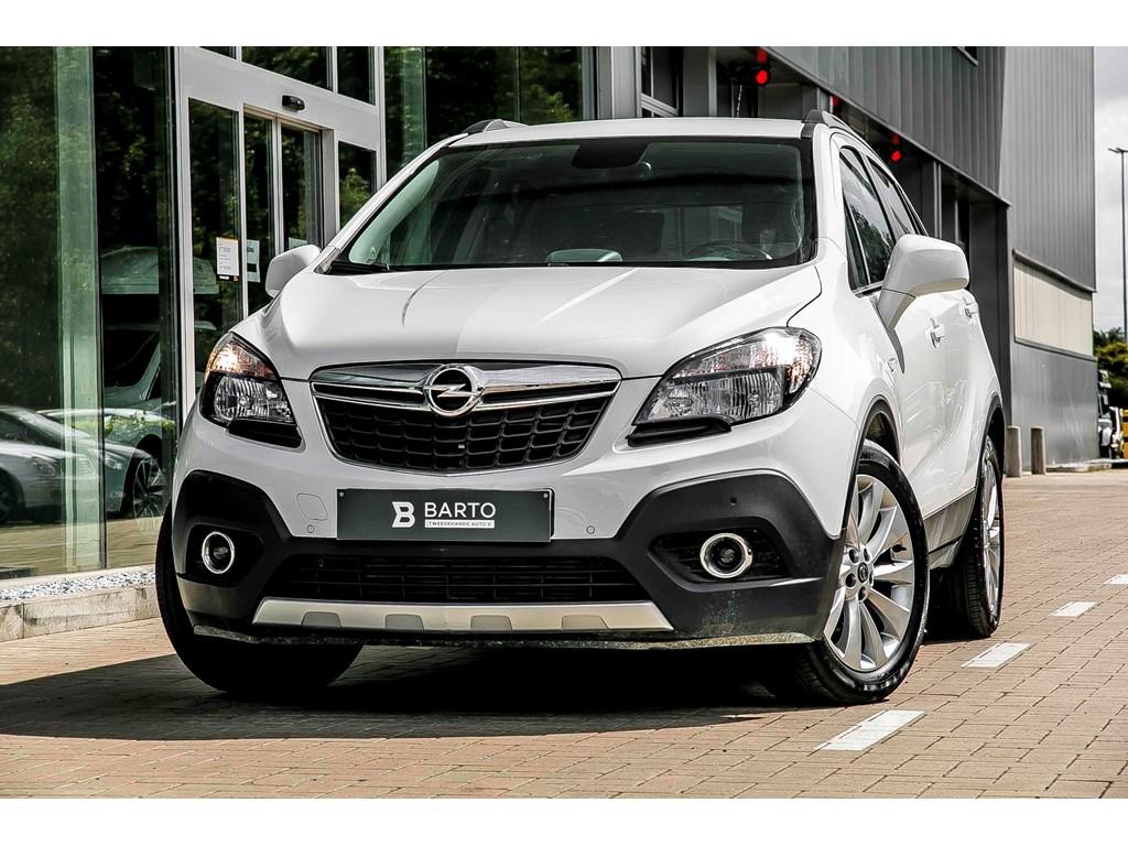 Tweedehands te koop: Opel Mokka Wit - 14 Benz TURBO - 140pk - Cosmo - Navi - Achteruitrijcamera - Aut Airco - StartStop -