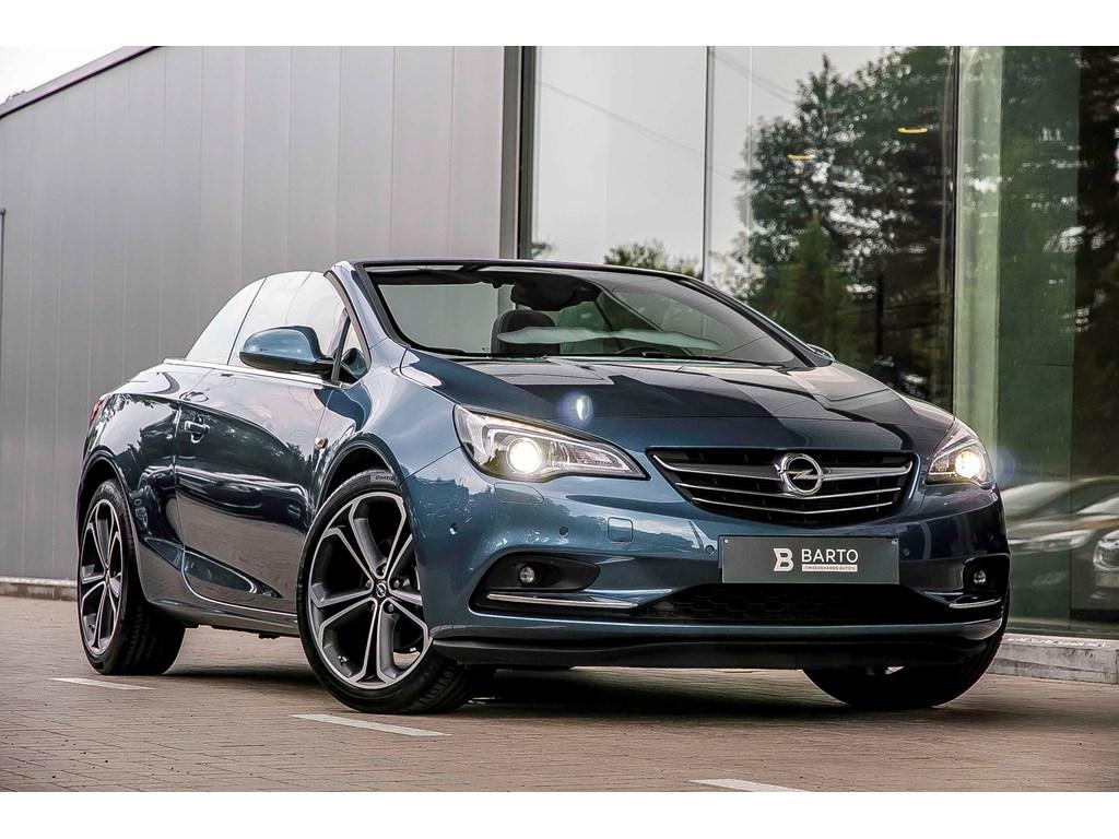 Tweedehands te koop: Opel Cascada Blauw - 16 Turbo Benz 170pk - Automaat - Xenon - Full leder ergon zetels - 20 wielen