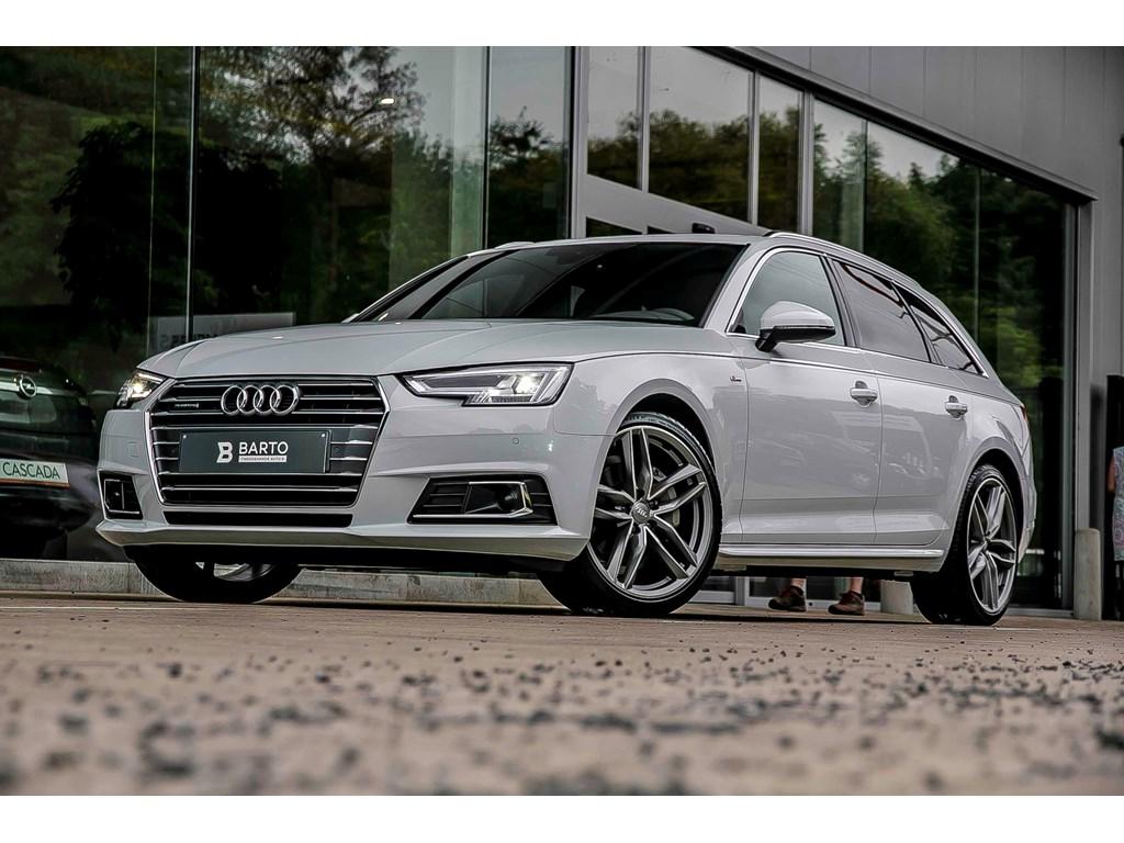 Tweedehands te koop: Audi A4 Wit - Avant - S line - 190 PK Qttr - Adapt CC - Virt C - Full LED - Off lane detectie - 19 RS wielen