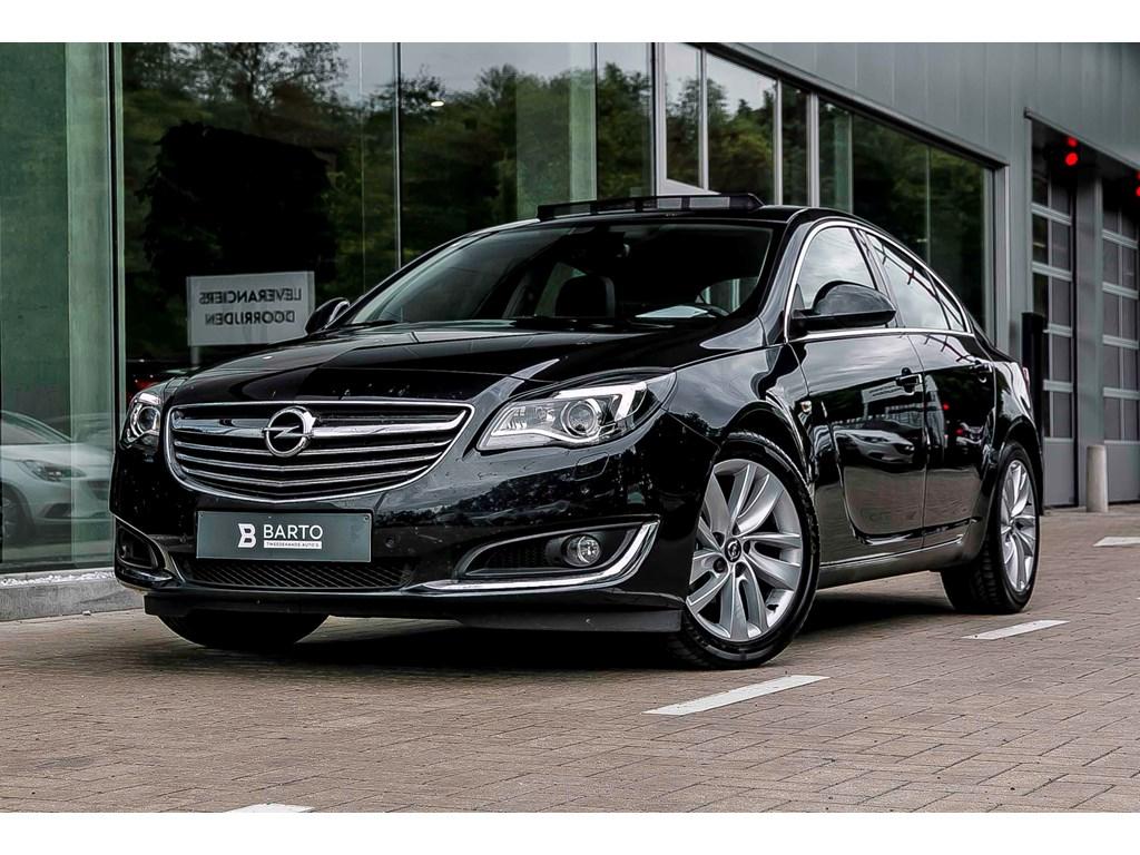 Tweedehands te koop: Opel Insignia Zwart - Cosmo - 140pk - Leder - Opendak - Xenon - Navi