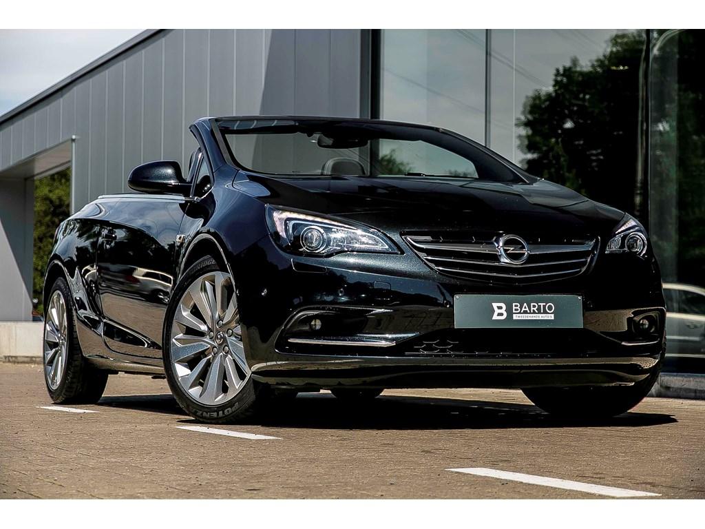 Tweedehands te koop: Opel Cascada Zwart - 16 Turbo 170pk - Xenon - Leder - Navi - 19 wielen
