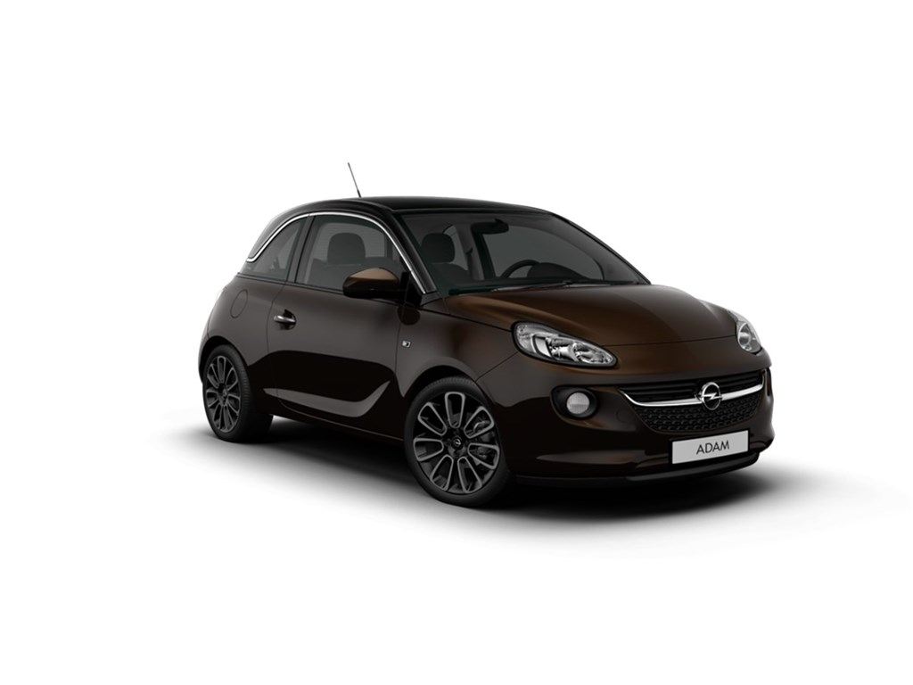Tweedehands te koop: Opel ADAM Bruin - GLAM 12 Benz 70pk 51kw - NIEUW - Intellilink - Parkeersensoren achter