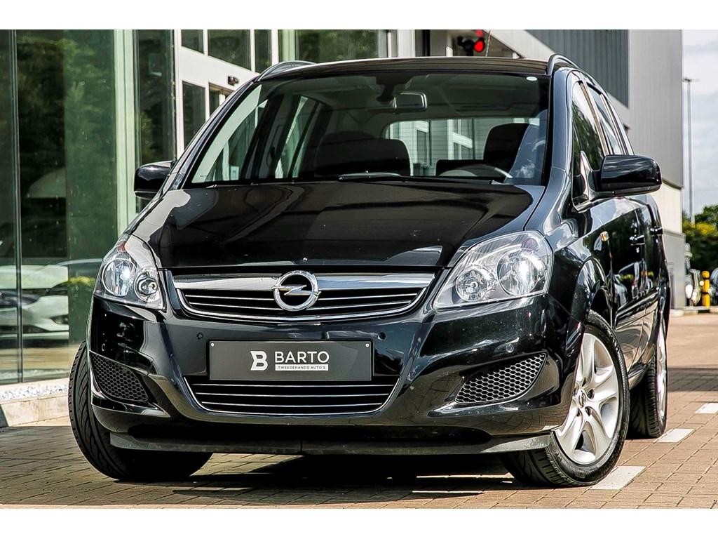 Tweedehands te koop: Opel Zafira Zwart - 17D 110pk - Navi - Bluetooth - Parkeersens - Aut Airco -