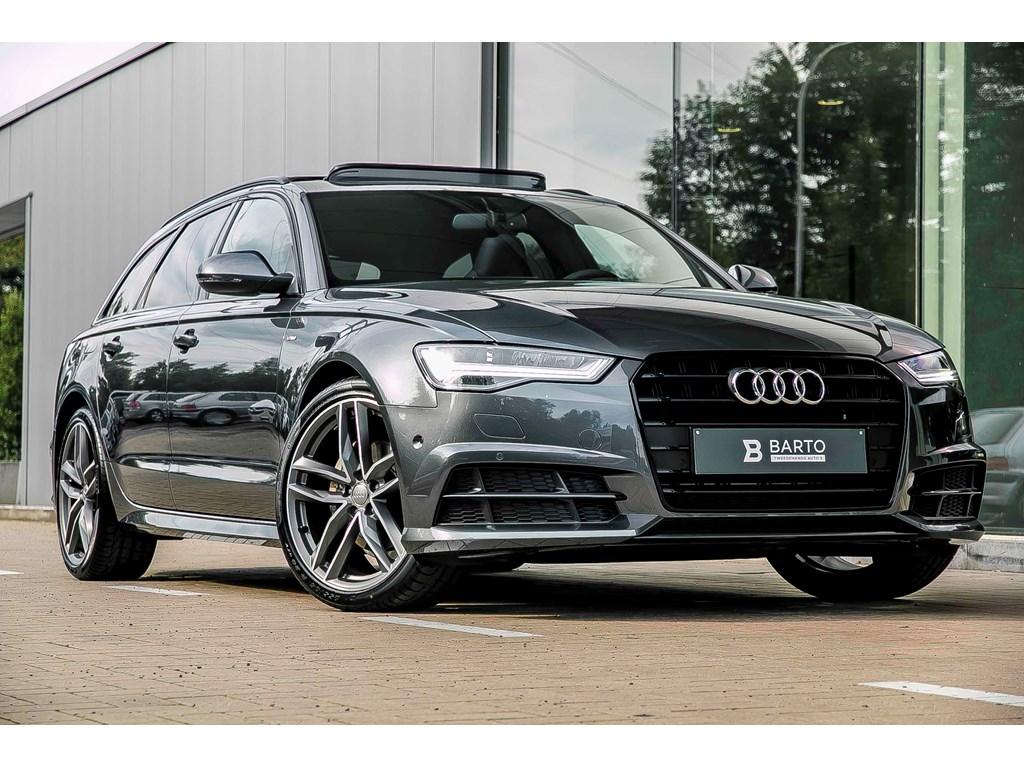 Tweedehands te koop: Audi A6 Grijs - Avant - Stronic 190pk - RS zetels - Full led - S line - RS wielen - Pano open dak