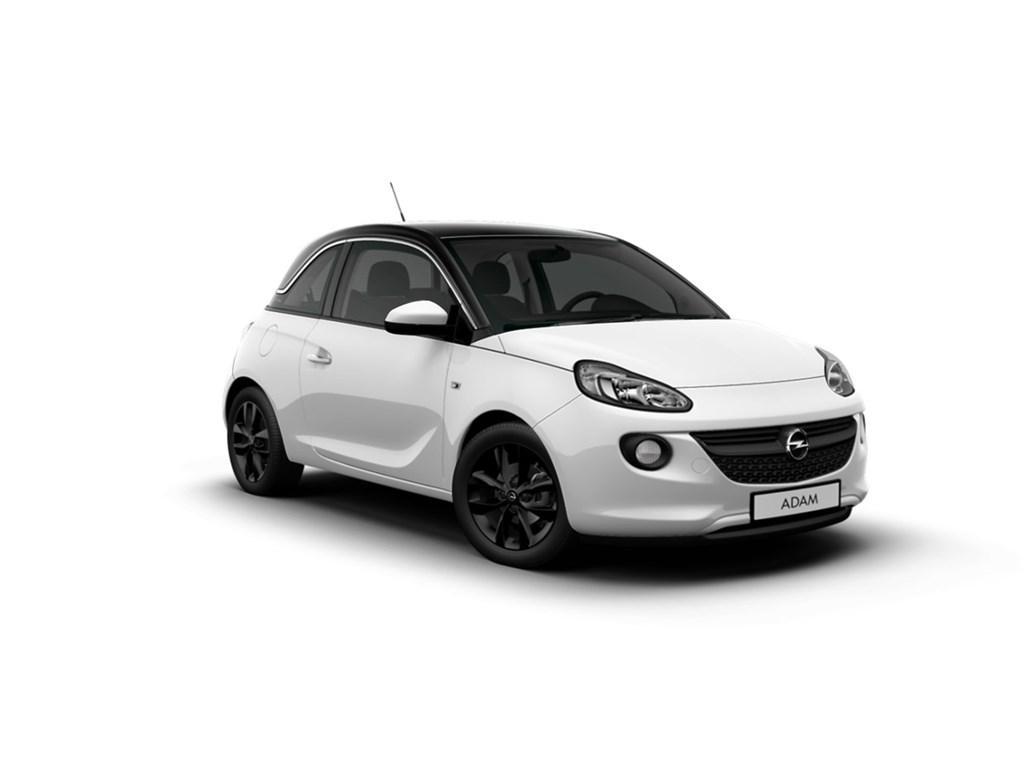 Opel-ADAM-Wit-Jam-12-Benz-70pk-Nieuw-Intellilink-Parkeersensoren-Alu-velgen