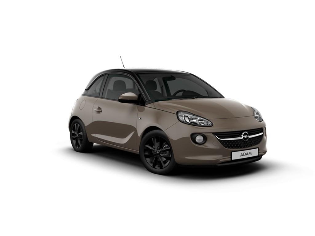 Tweedehands te koop: Opel ADAM Bruin - Jam 12 Benz 70pk - Nieuw - Intellilink - Parkeersensoren - Alu velgen