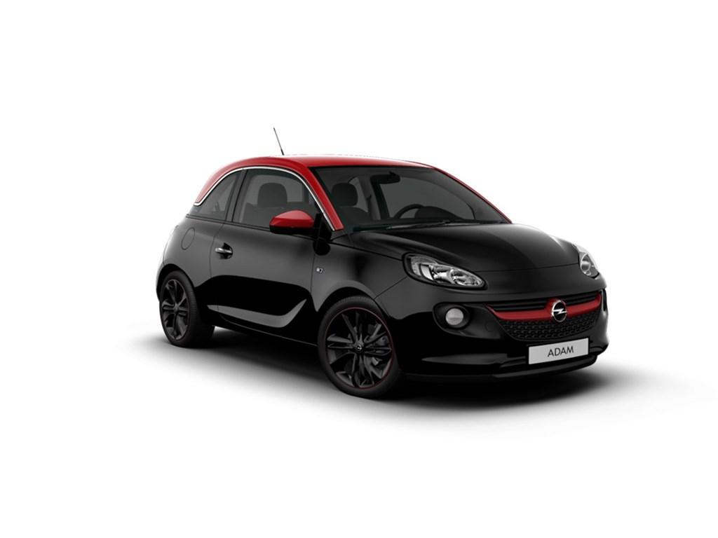 Tweedehands te koop: Opel ADAM Zwart - Unlimited 12 Benz 70pk - Nieuw - Intellilink - Alu velgen -