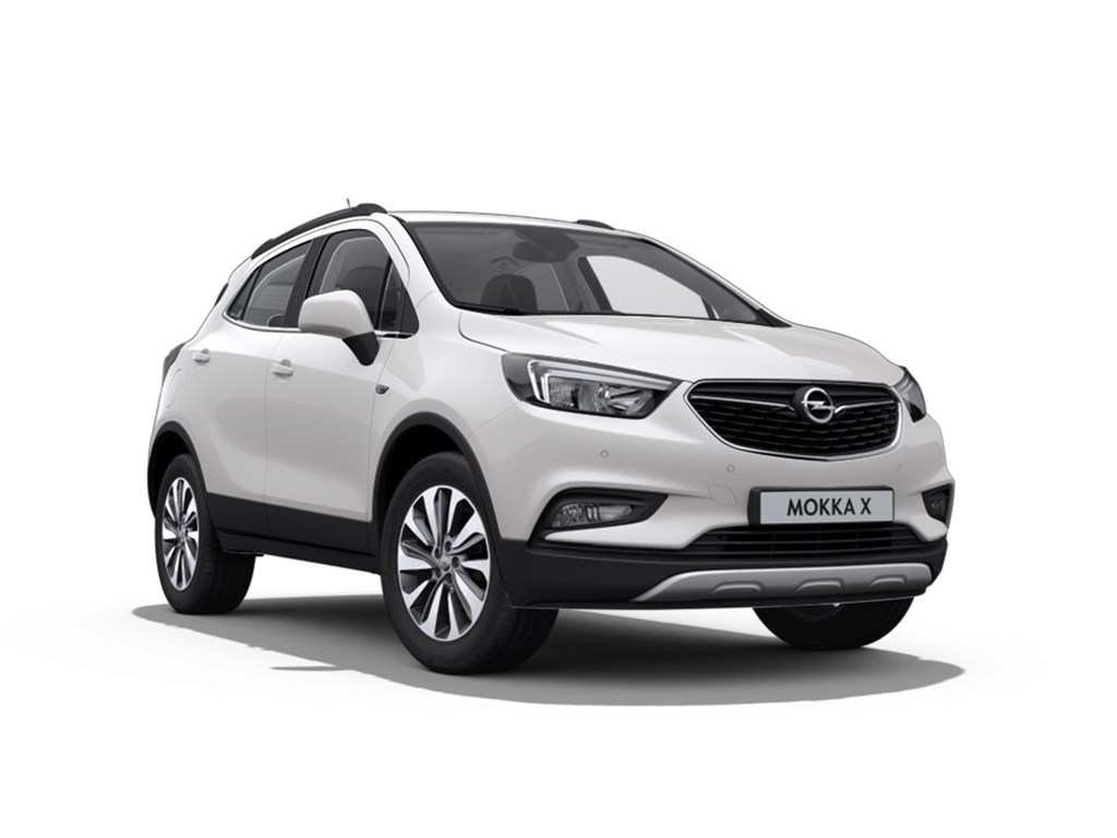 Tweedehands te koop: Opel Mokka Wit - Innovation 14 Turbo man 6 versn - Nieuw - Achteruitrijcamera - Navigatie - Leder