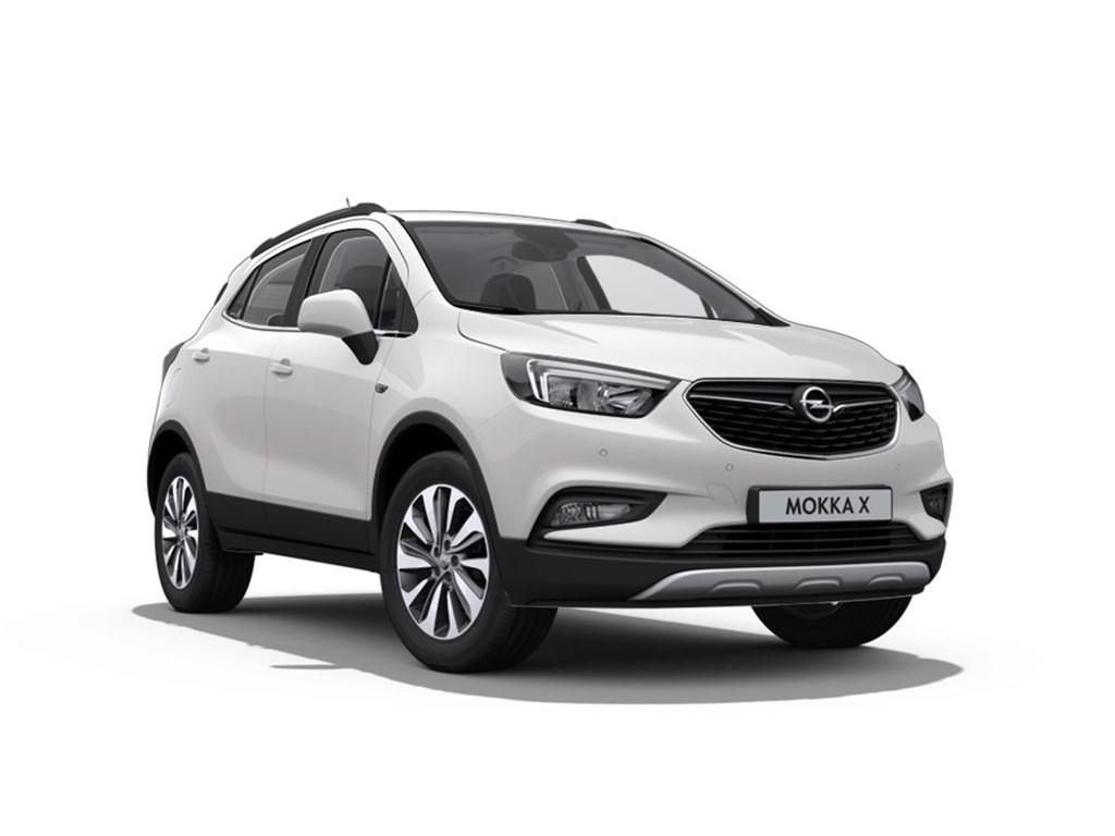 Tweedehands te koop: Opel Mokka Wit - Innovation 14 Turbo AUTOMAAT - Nieuw - Achteruitrijcamera - Navigatie - Leder