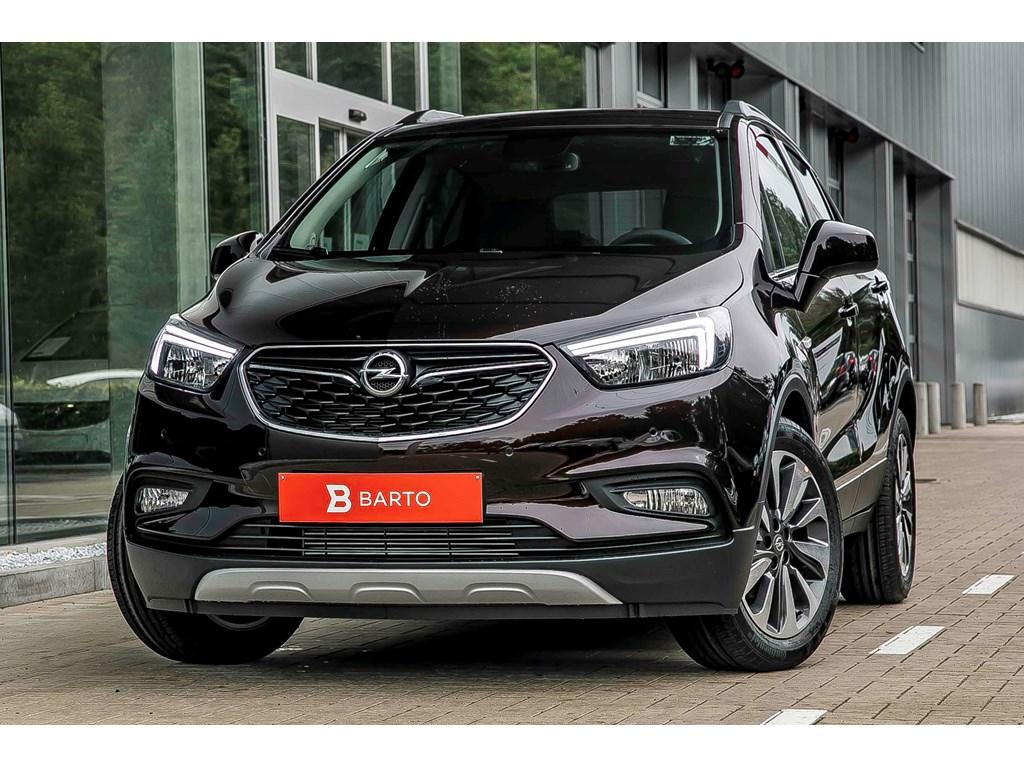 Tweedehands te koop: Opel Mokka Bruin - Innovation 14 Turbo man 6 versn - Nieuw - Achteruitrijcamera - Navigatie - Leder