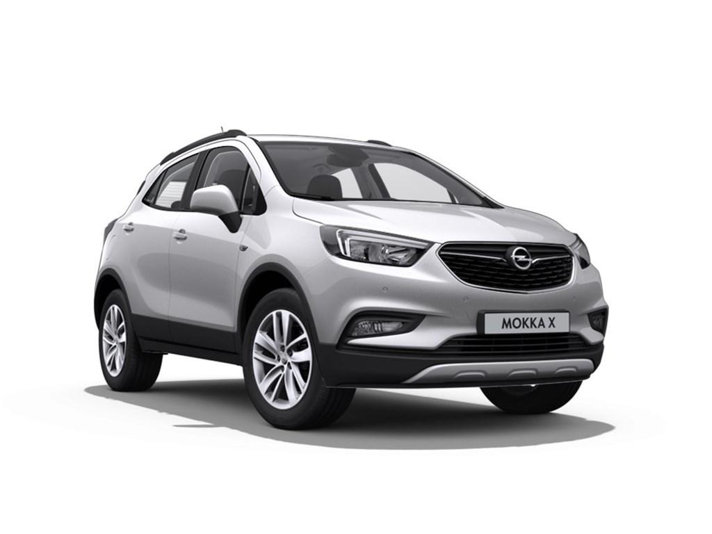 Tweedehands te koop: Opel Mokka Zilver - Edition 14 Turbo man 6 versn - Nieuw - Achteruitrijcamera - Navigatie - Parkeersensoren