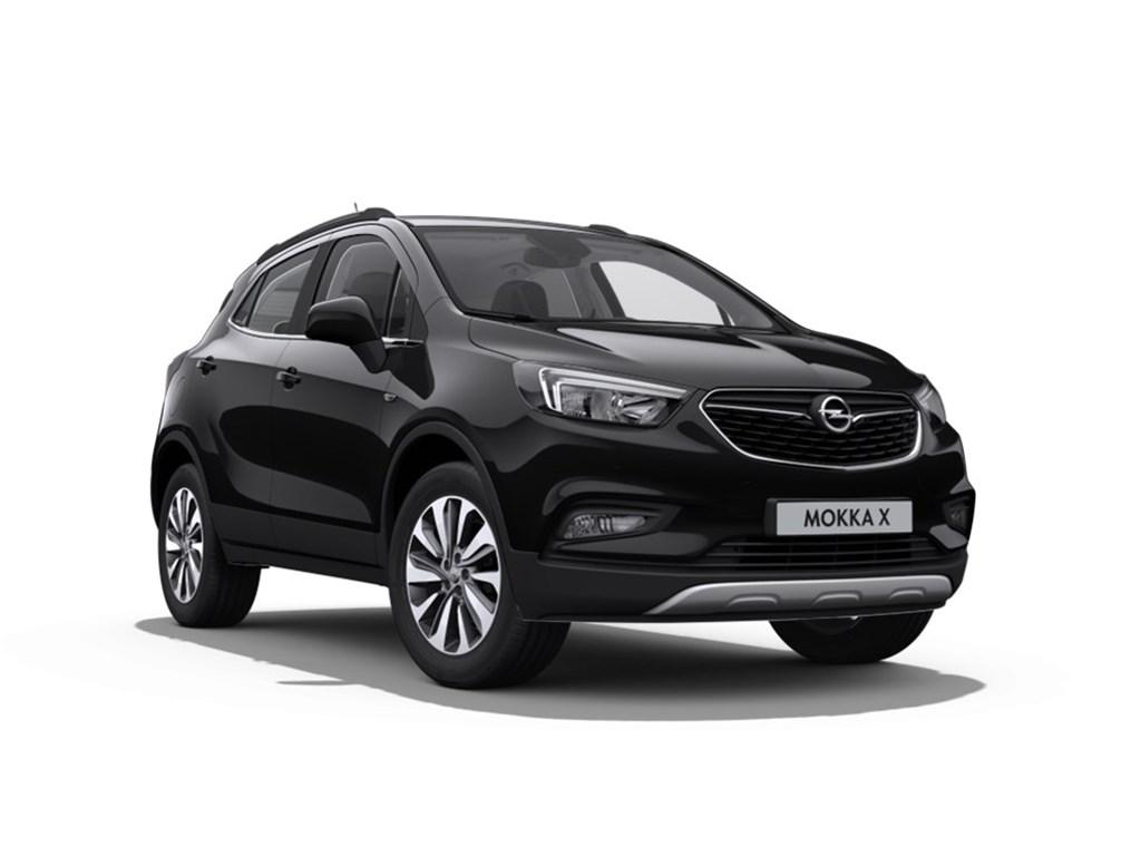 Tweedehands te koop: Opel Mokka Zwart - Innovation 14 Turbo man 6 versn - Nieuw - Achteruitrijcamera - Navigatie - Leder