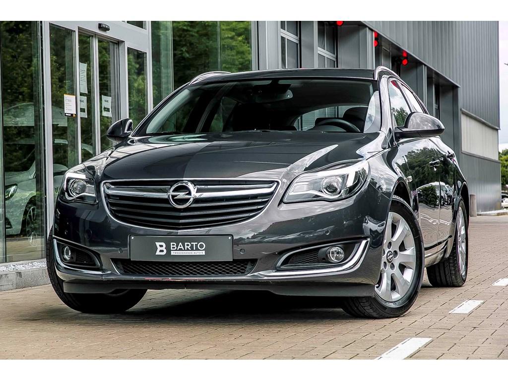 Opel-Insignia-Grijs-SPORTS-TOURER-16d-136pk-EDITION-Navi-Aut-Airco-Parkeersens-Alu-Velgen