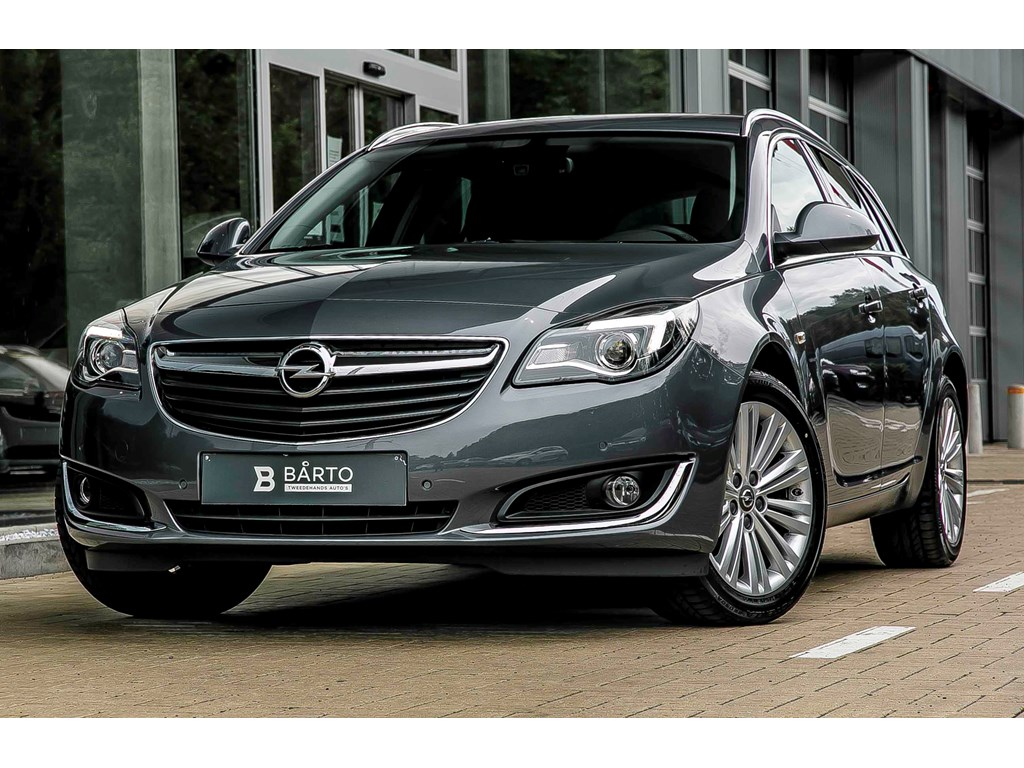 Tweedehands te koop: Opel Insignia Grijs - ST - 16d 136pk - COSMO - Autom - Erg Leder zetels - Navi - Auto airco