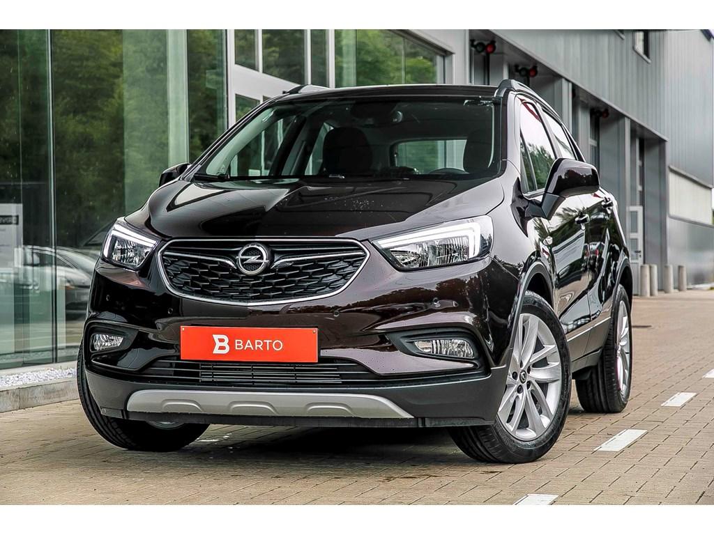 Tweedehands te koop: Opel Mokka Bruin - Edition 14 Turbo man 6 versn - Nieuw - Achteruitrijcamera - Navigatie - Parkeersensoren