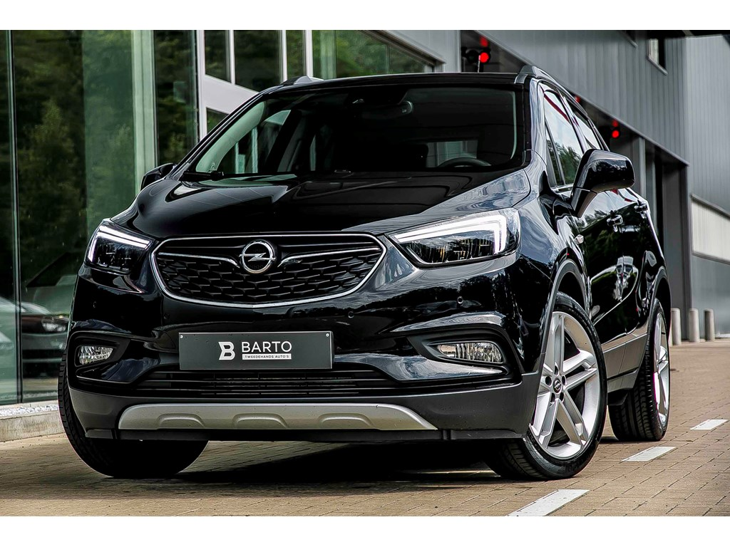 Tweedehands te koop: Opel Mokka Zwart - 14T - Leder - Matrix LED - Opendak - Camera - 19 - Keyless openstart