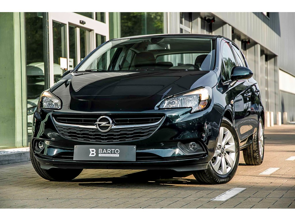 Opel-Corsa-Groen-Enjoy-Intellilink-AppleAndroid-Car-play-Airco