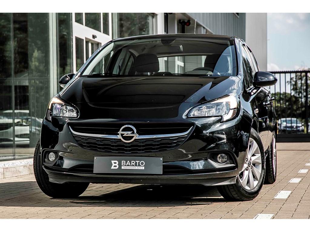Tweedehands te koop: Opel Corsa Zwart - Enjoy - Intellilink AppleAndroid Car play - Airco