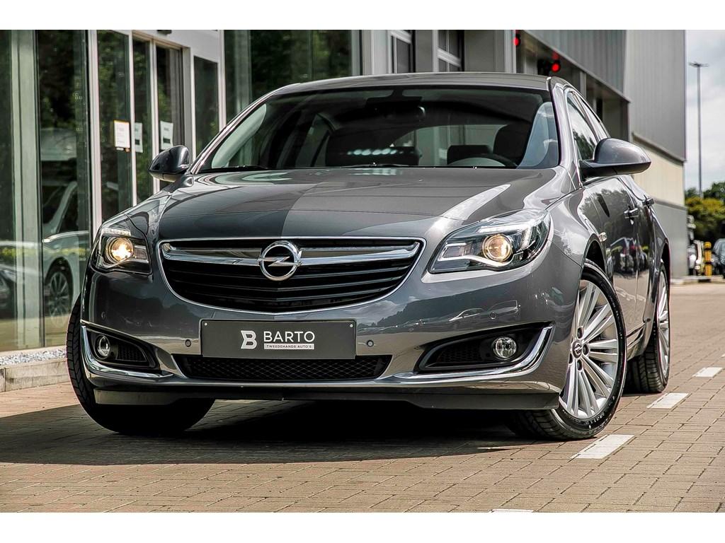 Tweedehands te koop: Opel Insignia Grijs - 5D - Cosmo - 136pk - Ergon Leder Zetels - Navi - 18 wielen