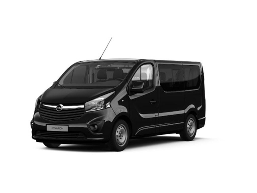 Tweedehands te koop: Opel Vivaro Zwart - Combi L1H1 8 plaatsen 16 CDTi 125p - Nieuw