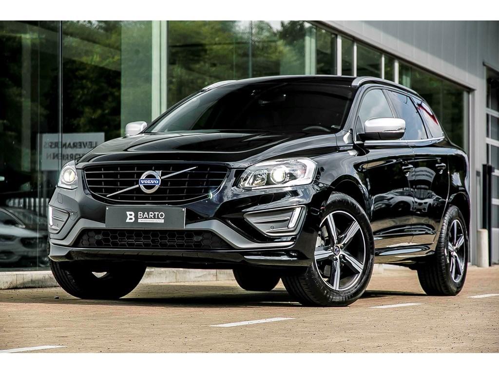 Tweedehands te koop: Volvo XC60 Zwart - D4 - R-Design - Xenon - Winterpack - Automaat - Donker glas