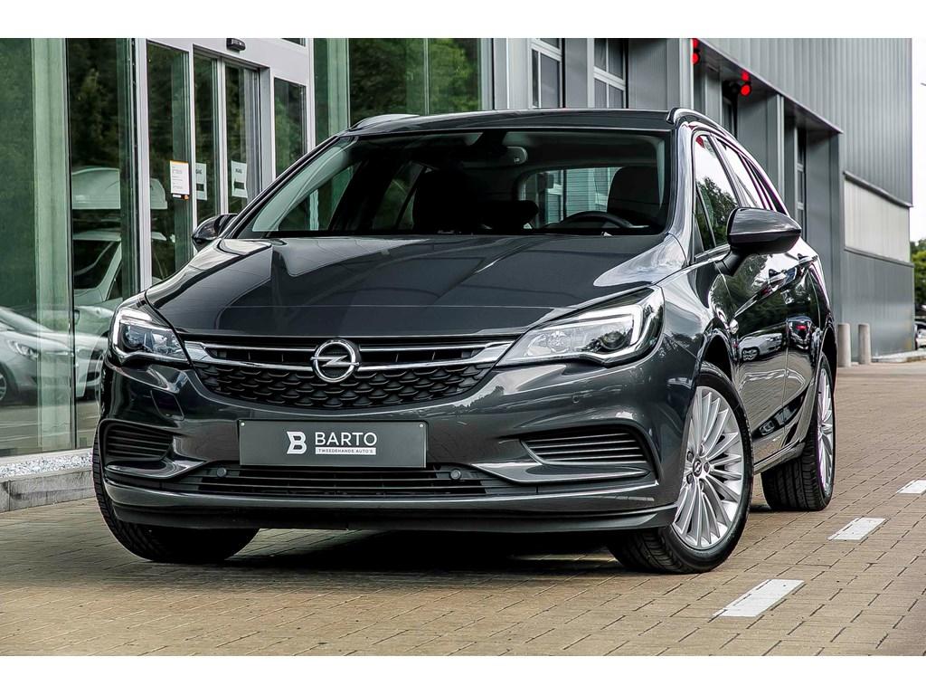 Tweedehands te koop: Opel Astra Anthraciet - ST - 10 Turbo 105pk - Edition - Navi - Airco - Parkeersens - WEINIG km
