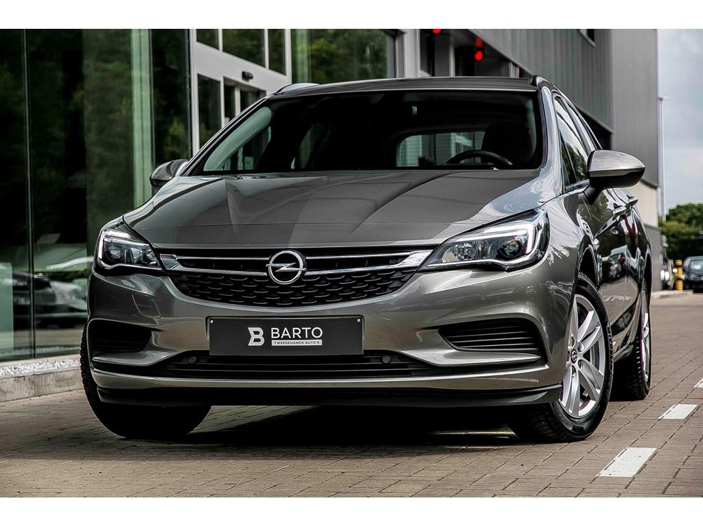 Tweedehands te koop: Opel Astra Grijs - Sports Tourer - 10 Turbo - Navigatie - Parkeersens