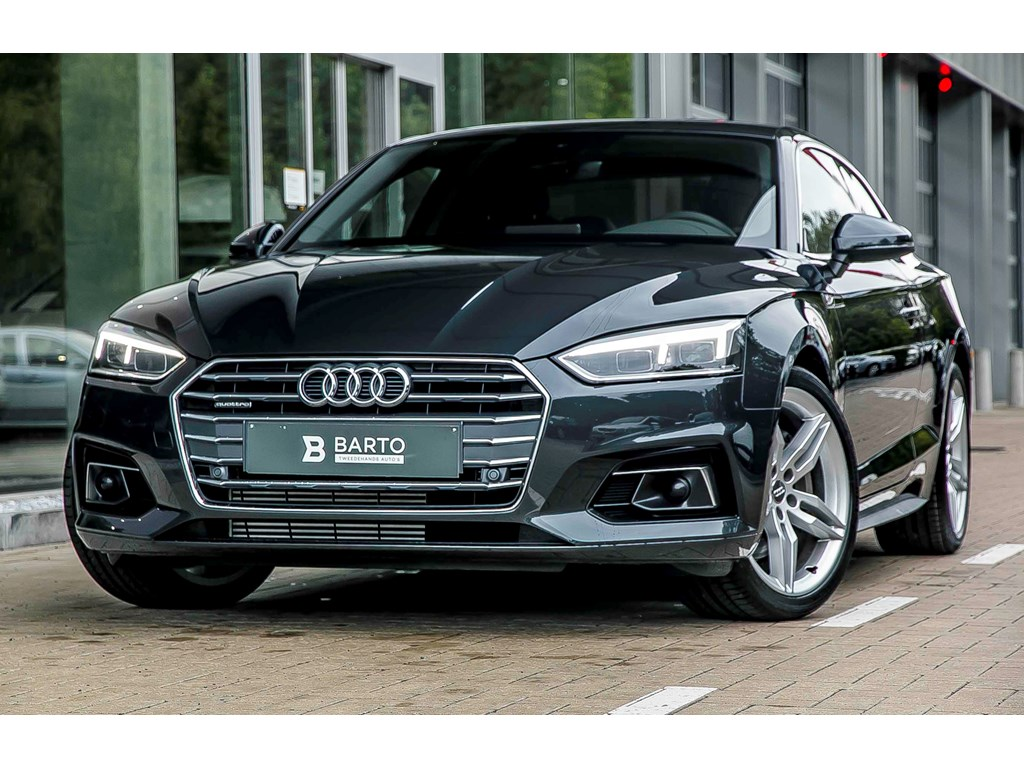 Tweedehands te koop: Audi A5 Grijs - Verkocht - Proficiat