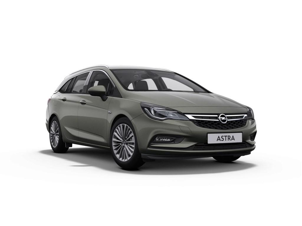 Tweedehands te koop: Opel Astra Grijs - Sports Tourer 14 Turbo 125pk Innovation - Nieuw - Navigatie - Donker getinte ruiten achteraan