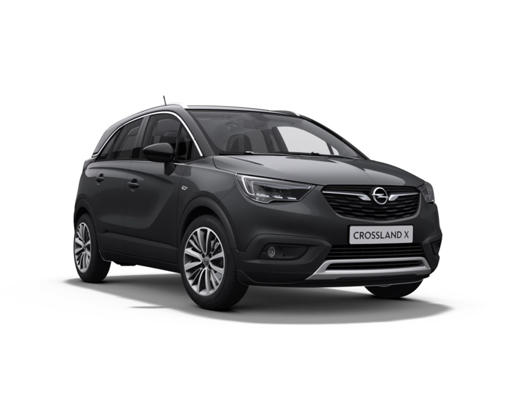 Tweedehands te koop: Opel Crossland X Anthraciet - Innovation 12 Benz Turbo manueel 5 - 110pk - Nieuw