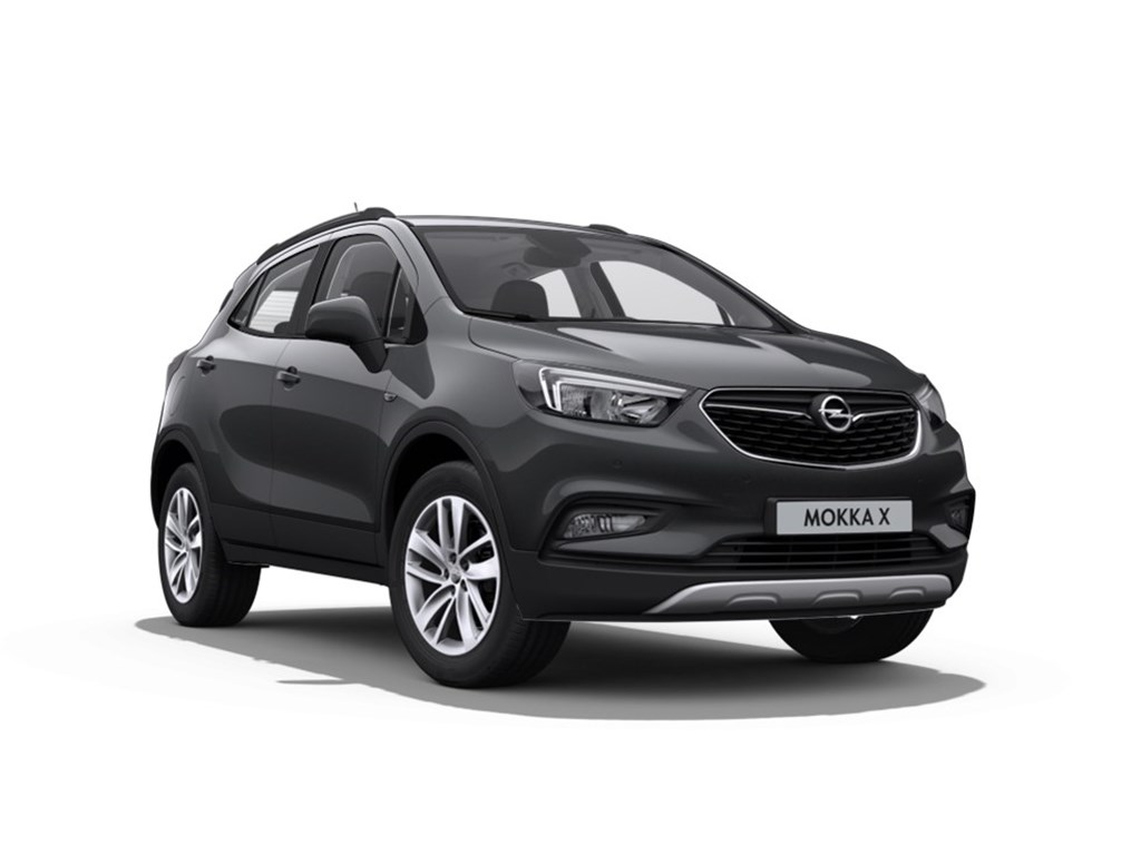 Opel-Mokka-Grijs-Edition-16-Benz-man-5-versn-Nieuw-Navigatie-Parkeersensoren