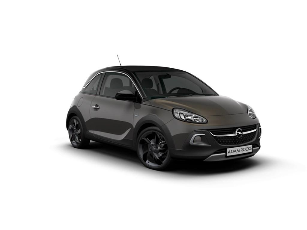 Opel-ADAM-ROCKS-Grijs-Rocks-14-Benz-100pk-74kw-NIEUW-Canvas-dak-IntelliLink-18-inch-velgen-Elektr-airco