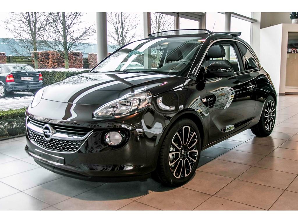 Tweedehands te koop: Opel ADAM Bruin - Open Air 12 Benz 70pk - Nieuw - Intellilink - Parkeersens