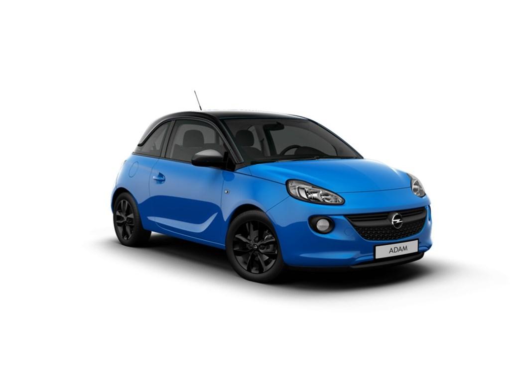 Tweedehands te koop: Opel ADAM Blauw - Jam 12 Benz 70pk - Nieuw - Intellilink - Parkeersens