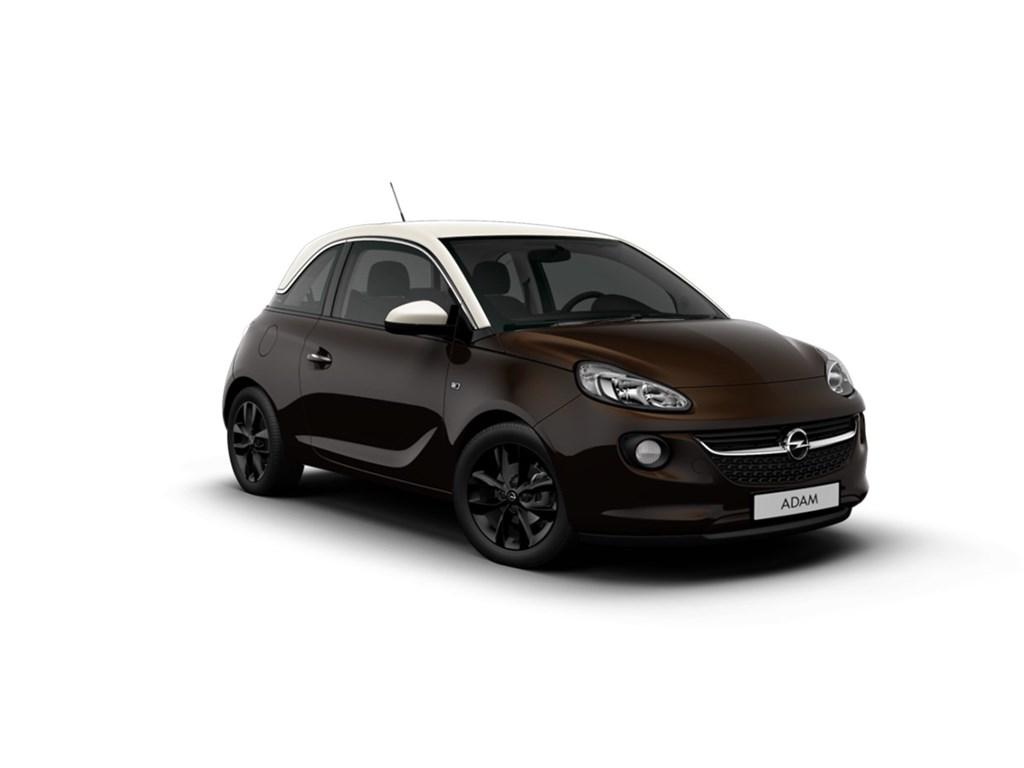 Tweedehands te koop: Opel ADAM Bordeaux - Jam 12 Benz 70pk - Nieuw - Intellilink - Parkeersens