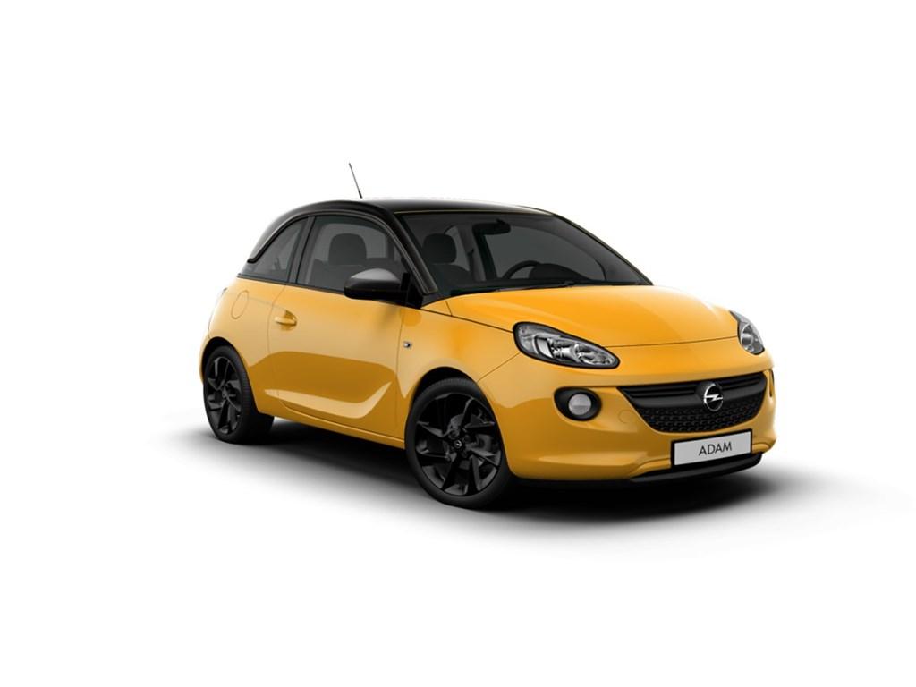 Tweedehands te koop: Opel ADAM Oranje - Jam 12 Benz 70pk - Nieuw - Intellilink - Parkeersens