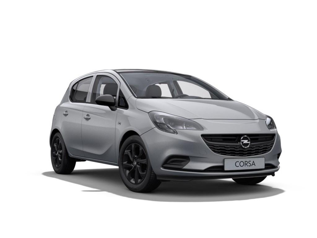 Tweedehands te koop: Opel Corsa Grijs - 5-Deurs 12 Benz Black Edition 70pk - Nieuw