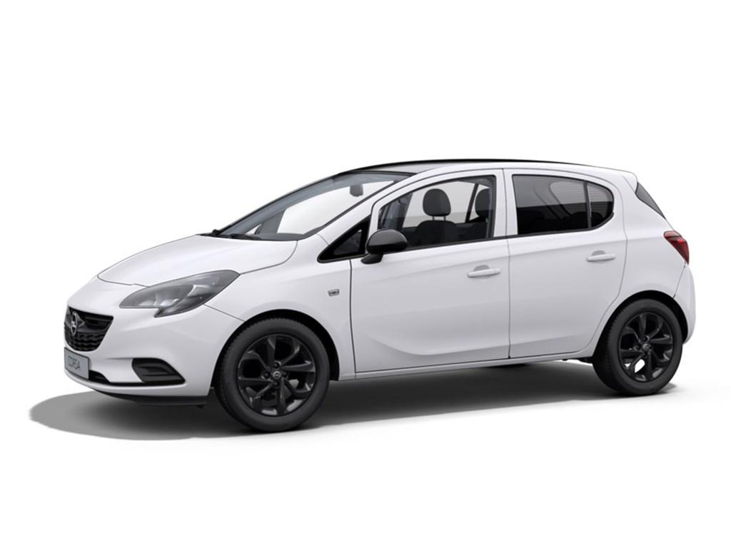 Tweedehands te koop: Opel Corsa Wit - 5-Deurs 12 Benz Black Edition 70pk - Nieuw