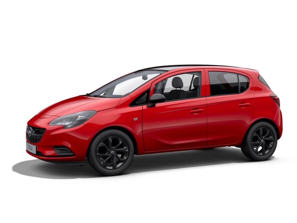 Opel-Corsa-Rood-5-Deurs-12-Benz-Black-Edition-70pk-Nieuw-