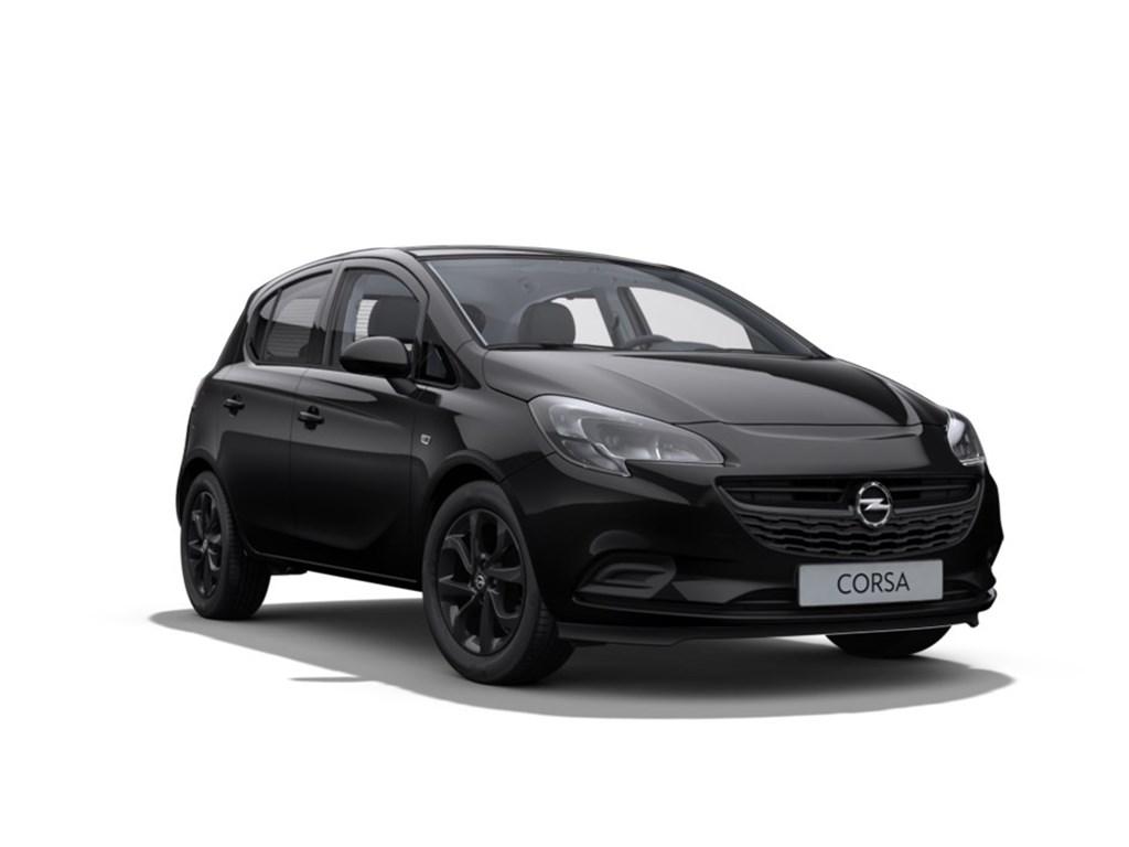 Tweedehands te koop: Opel Corsa Zwart - 5-Deurs 12 Benz Black Edition 70pk - Nieuw