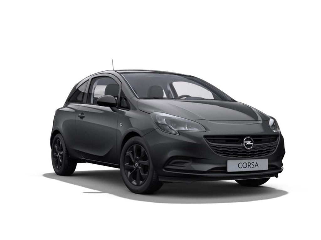 Tweedehands te koop: Opel Corsa Grijs - 3-Deurs 12 Benz Black Edition 70pk - Nieuw