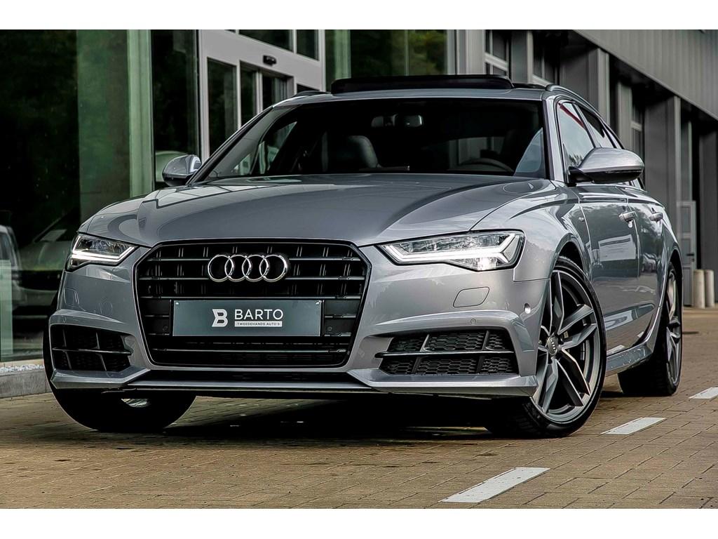 Tweedehands te koop: Audi A6 Zilver - Avant - 190 pk - nieuw - RS zetels -20 -pano dak - Black styling pack