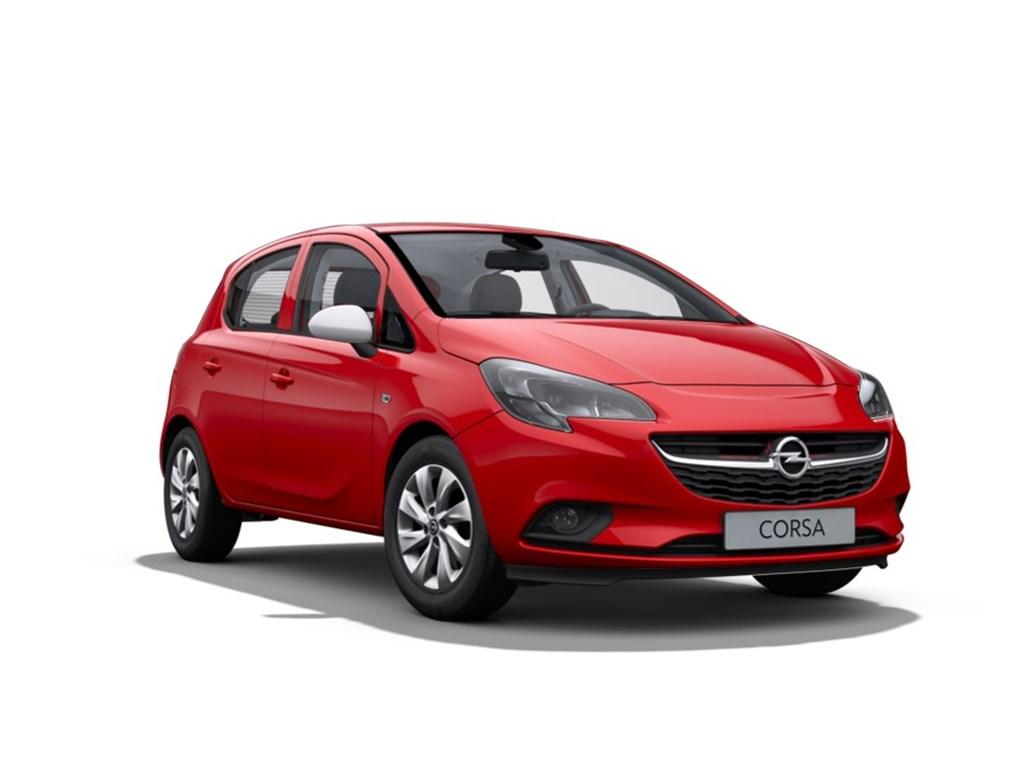 Tweedehands te koop: Opel Corsa Rood - 5-Deurs 12 Benz Enjoy 70pk - Nieuw